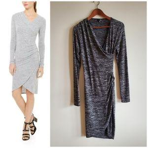 Aritzia Wilfred Free Klum dress, dark grey, medium